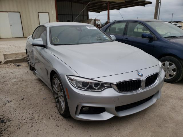 Salvage cars for sale from Copart Temple, TX: 2015 BMW 428 I
