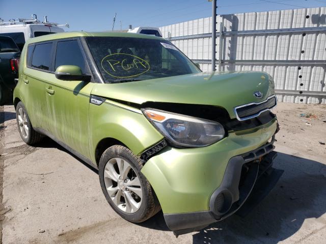 KIA salvage cars for sale: 2014 KIA Soul +