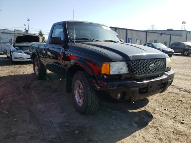 Salvage cars for sale from Copart Finksburg, MD: 2002 Ford Ranger