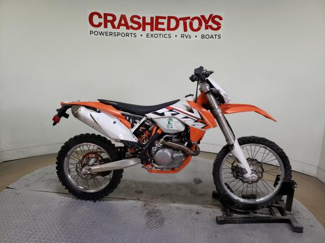 KTM salvage cars for sale: 2015 KTM 500 XC-W