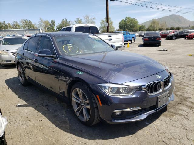 Salvage cars for sale from Copart Colton, CA: 2016 BMW 328 I Sulev