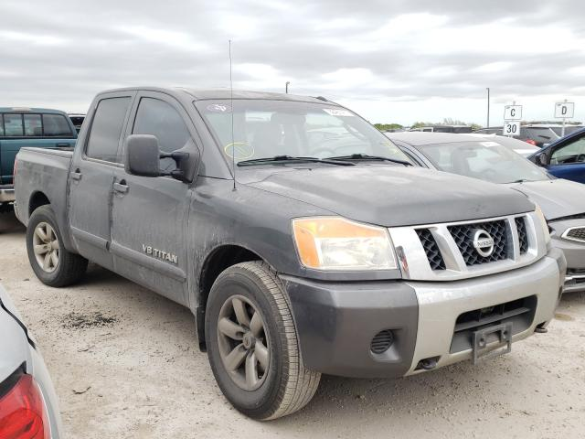 Salvage cars for sale from Copart Temple, TX: 2008 Nissan Titan XE