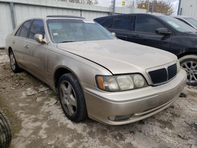 Salvage cars for sale from Copart Temple, TX: 1999 Infiniti Q45 Base