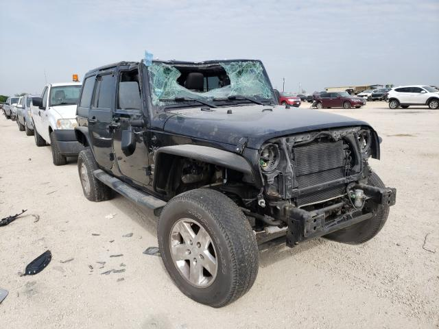 Salvage cars for sale from Copart San Antonio, TX: 2014 Jeep Wrangler U