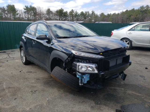 Salvage cars for sale from Copart Exeter, RI: 2021 Hyundai Kona SEL
