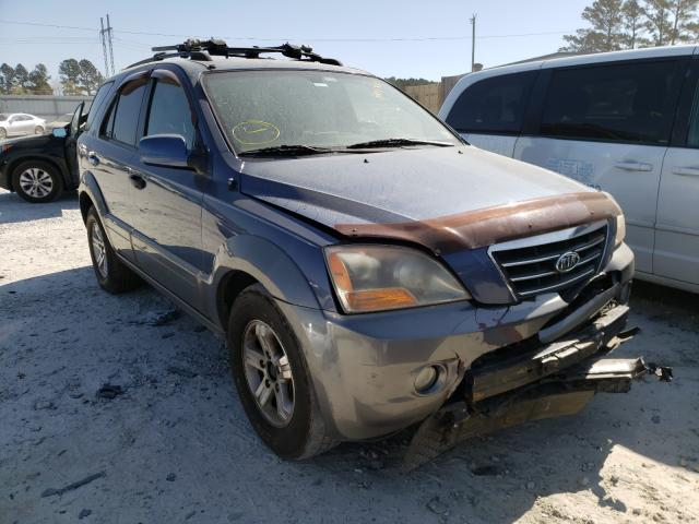 KIA Sorento salvage cars for sale: 2007 KIA Sorento