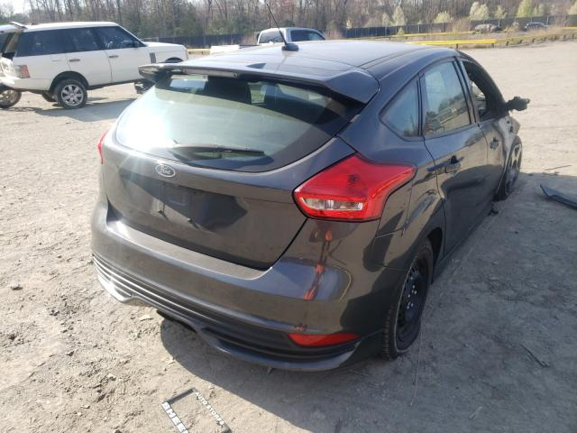 2018 FORD FOCUS ST - Right Rear View