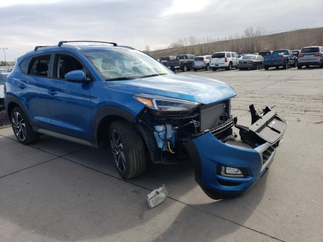Hyundai salvage cars for sale: 2021 Hyundai Tucson Limited