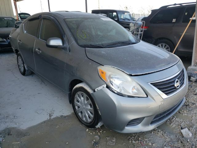Salvage cars for sale from Copart Homestead, FL: 2014 Nissan Versa S