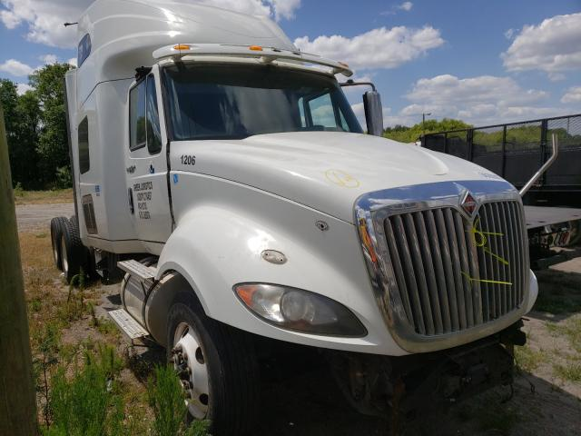 Salvage cars for sale from Copart Riverview, FL: 2014 International Prostar