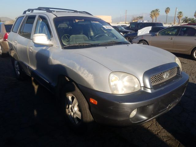 Salvage cars for sale from Copart Colton, CA: 2003 Hyundai Santa FE G