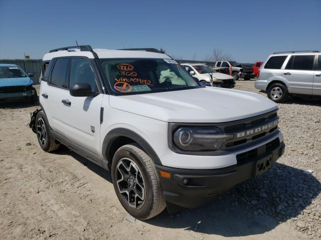 Salvage cars for sale from Copart Kansas City, KS: 2021 Ford Bronco Sport