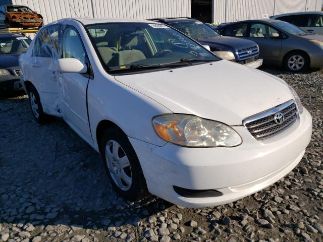 Salvage cars for sale from Copart Chambersburg, PA: 2007 Toyota Corolla CE