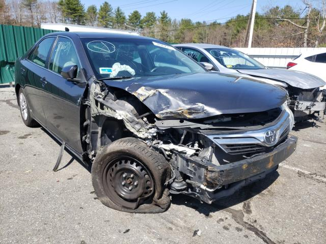 Salvage cars for sale from Copart Exeter, RI: 2013 Toyota Camry L