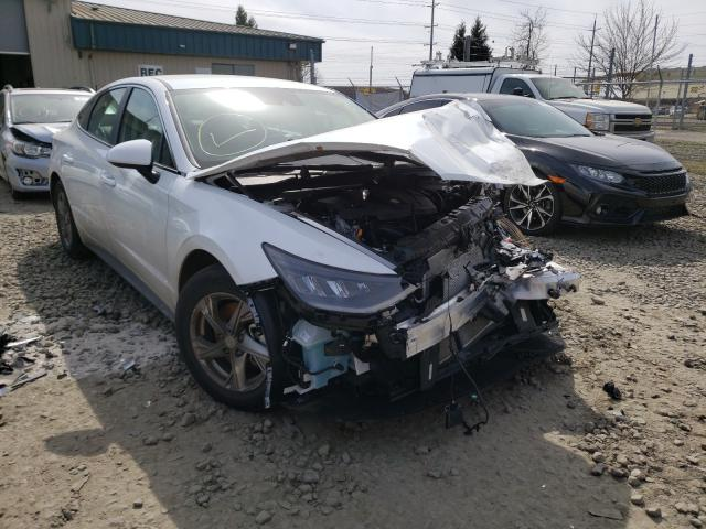 Salvage cars for sale from Copart Eugene, OR: 2021 Hyundai Sonata SE