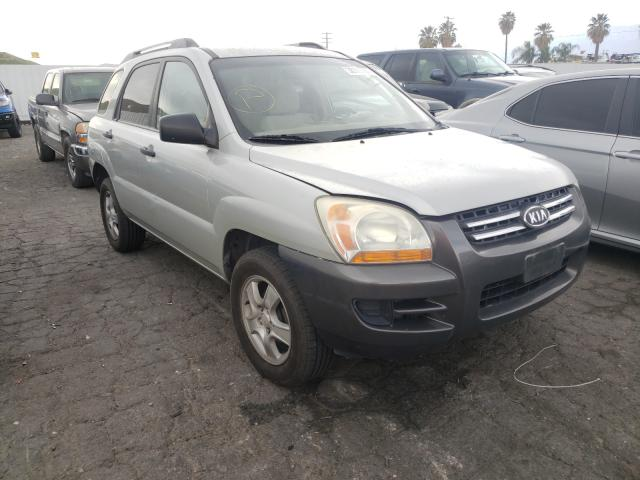 Salvage cars for sale from Copart Colton, CA: 2006 KIA New Sporta