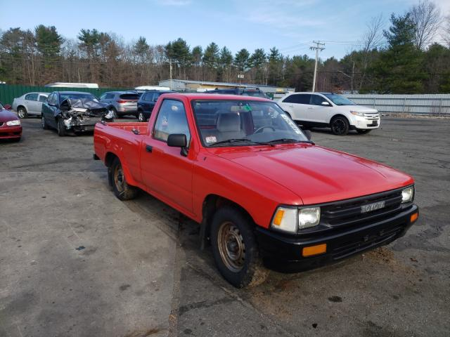 Salvage cars for sale from Copart Exeter, RI: 1991 Toyota Pickup 1/2
