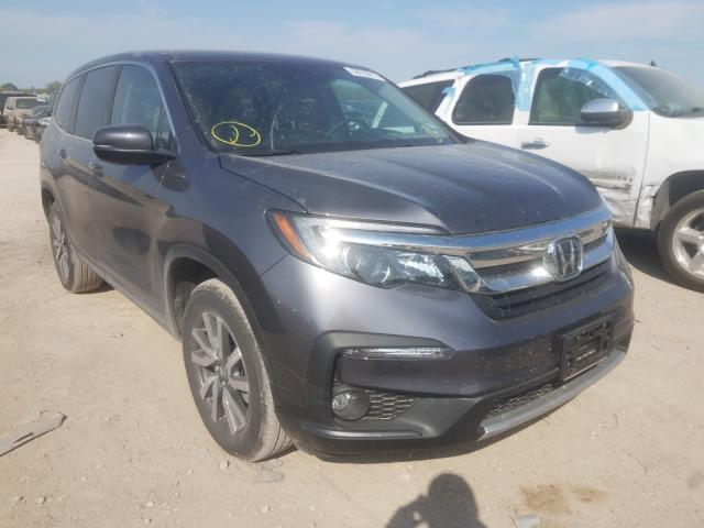 Salvage cars for sale from Copart Temple, TX: 2021 Honda Pilot EX