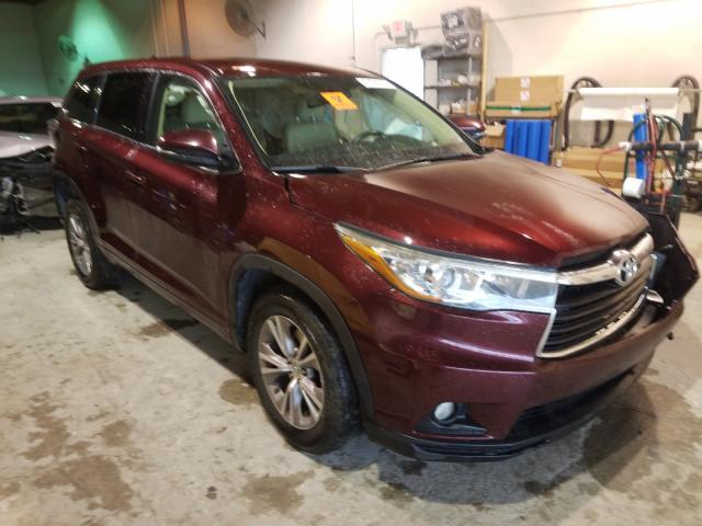 Salvage cars for sale from Copart Fort Pierce, FL: 2015 Toyota Highlander