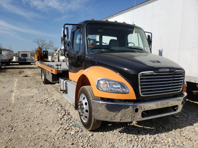 Salvage cars for sale from Copart Kansas City, KS: 2021 Freightliner M2 106 MED