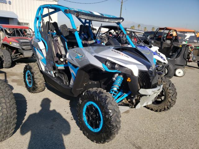 Salvage cars for sale from Copart Colton, CA: 2016 Can-Am Maverick 1