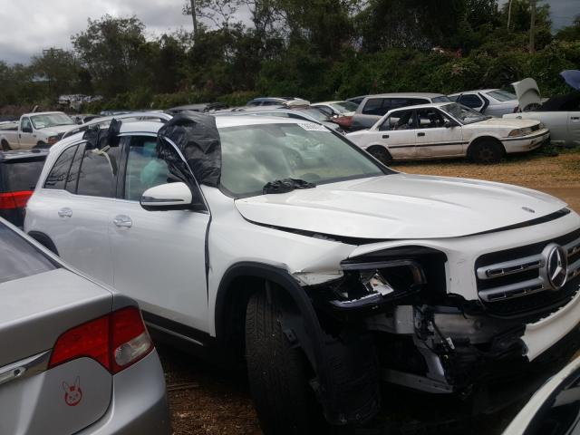 Salvage cars for sale from Copart Kapolei, HI: 2020 Mercedes-Benz GLB 250 4M
