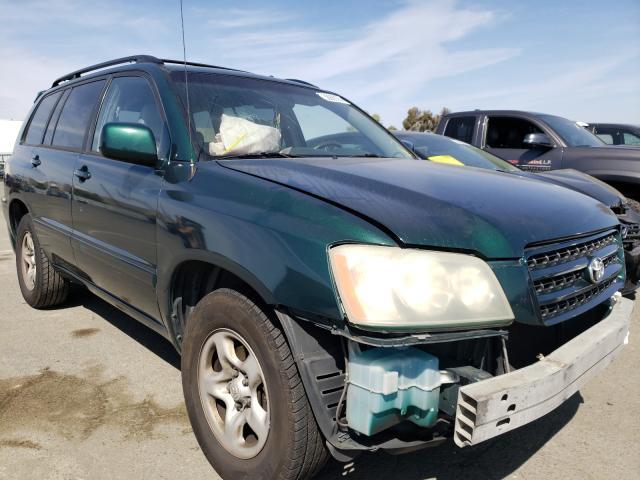 Vehiculos salvage en venta de Copart Martinez, CA: 2003 Toyota Highlander
