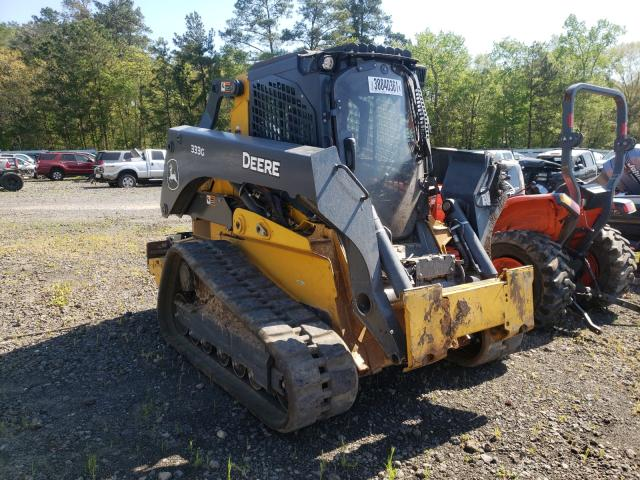 John Deere 333G salvage cars for sale: 2020 John Deere 333G