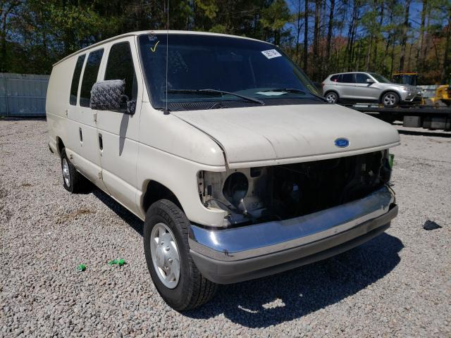 Salvage cars for sale from Copart Knightdale, NC: 1996 Ford Econoline