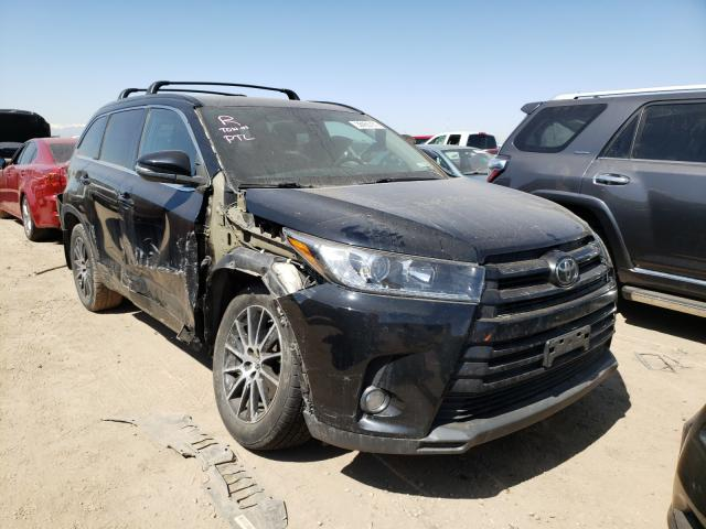 Vehiculos salvage en venta de Copart Brighton, CO: 2017 Toyota Highlander