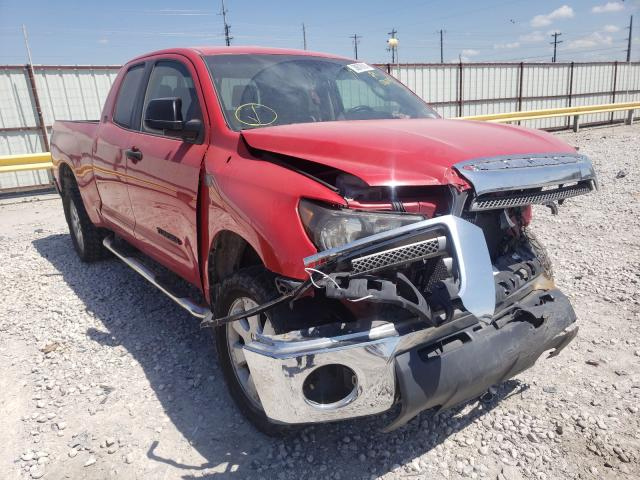 Salvage cars for sale from Copart Haslet, TX: 2007 Toyota Tundra DOU
