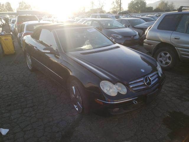 Salvage cars for sale from Copart Colton, CA: 2006 Mercedes-Benz CLK 350