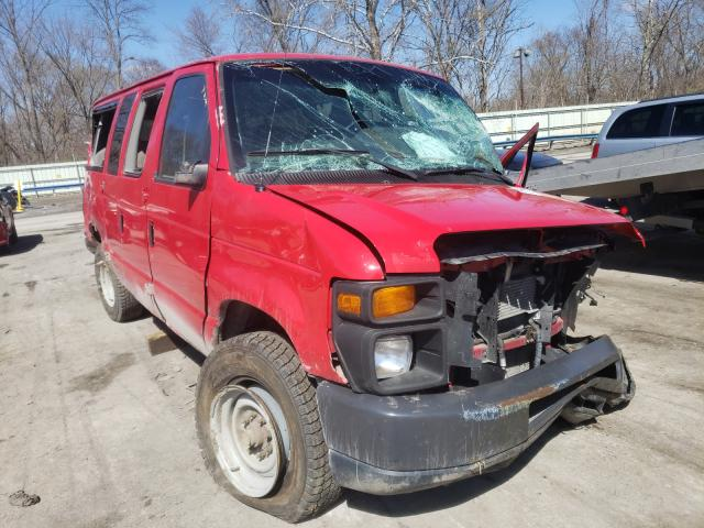 Salvage cars for sale from Copart Ellwood City, PA: 2013 Ford Econoline