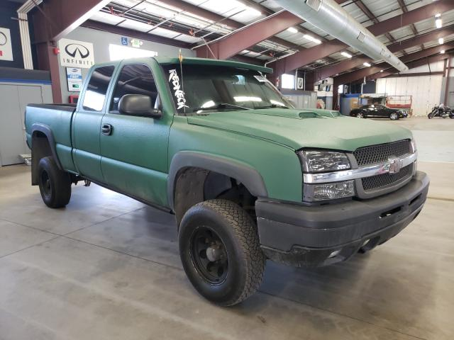 Salvage cars for sale from Copart East Granby, CT: 2003 Chevrolet Silverado