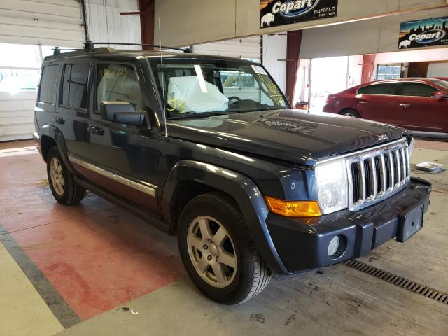 Salvage cars for sale from Copart Angola, NY: 2010 Jeep Commander