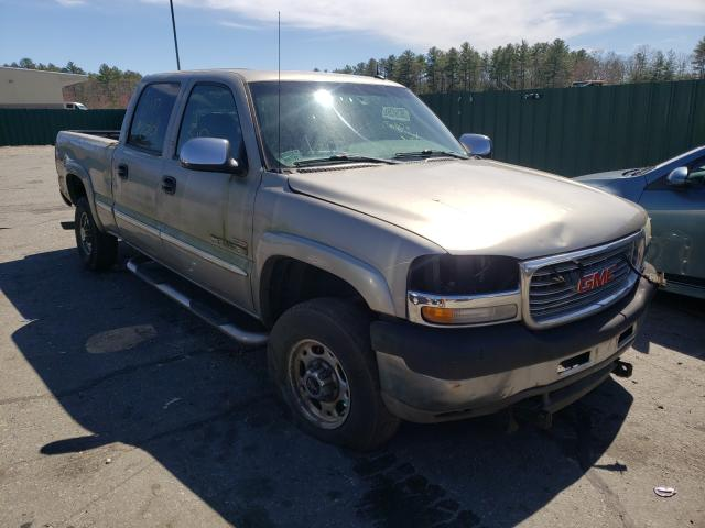 Salvage cars for sale from Copart Exeter, RI: 2002 GMC Sierra K25