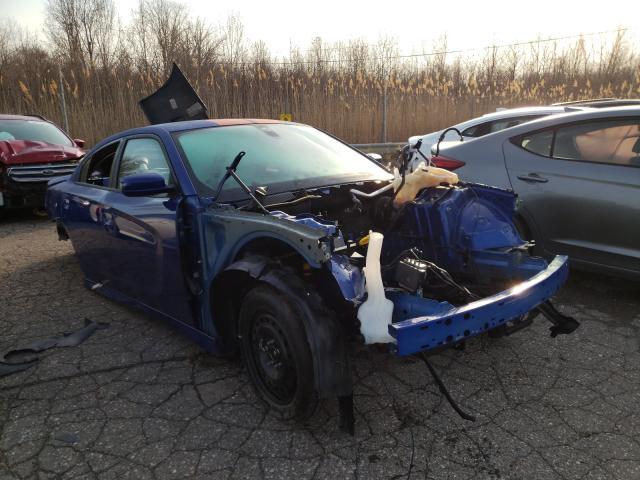 2018 Dodge Charger SR en venta en Woodhaven, MI
