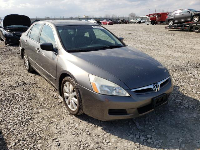 Salvage cars for sale from Copart Appleton, WI: 2006 Honda Accord EX