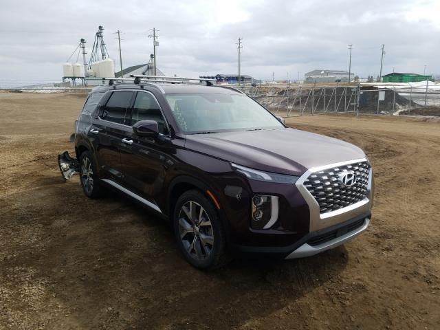 Salvage cars for sale from Copart Nisku, AB: 2020 Hyundai Palisade S
