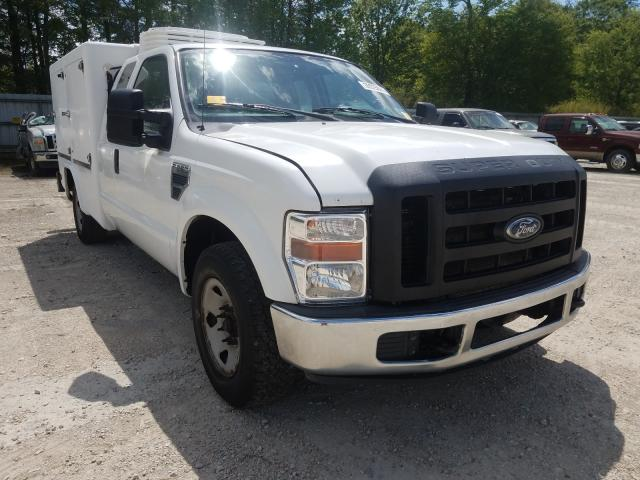 Salvage cars for sale from Copart Greenwell Springs, LA: 2010 Ford F250 Super