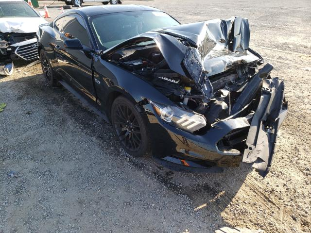 Salvage cars for sale from Copart Jacksonville, FL: 2015 Ford Mustang GT