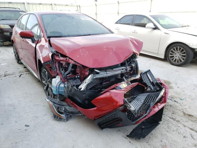 Salvage cars for sale from Copart Homestead, FL: 2021 Toyota Corolla SE