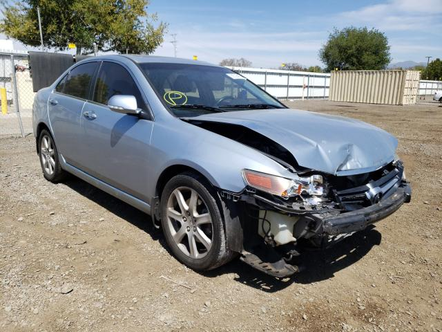 Acura salvage cars for sale: 2004 Acura TSX