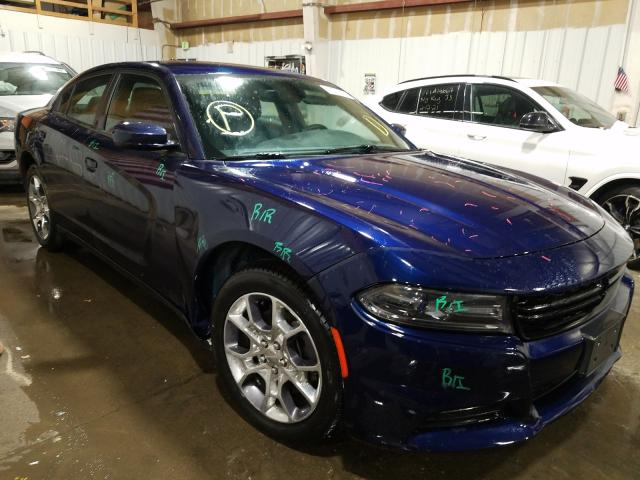 Salvage cars for sale from Copart Anchorage, AK: 2016 Dodge Charger SX