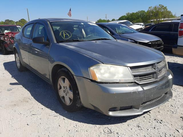 Salvage cars for sale from Copart Montgomery, AL: 2008 Dodge Avenger SE
