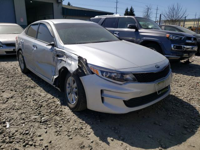Salvage cars for sale from Copart Eugene, OR: 2017 KIA Optima LX