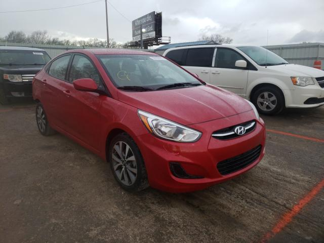 Salvage cars for sale from Copart Wichita, KS: 2017 Hyundai Accent SE