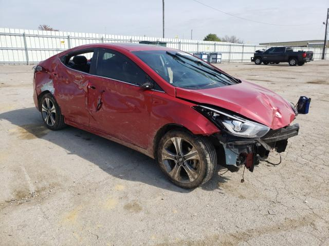 Hyundai Elantra salvage cars for sale: 2014 Hyundai Elantra