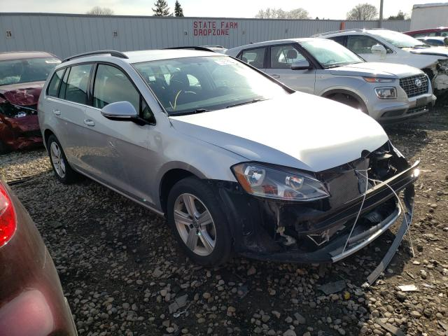 Salvage cars for sale from Copart Cudahy, WI: 2015 Volkswagen Golf Sport