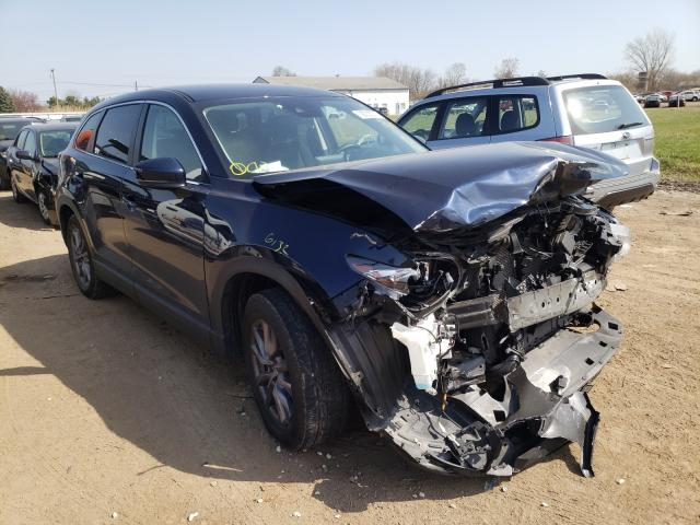 Salvage cars for sale from Copart Columbia Station, OH: 2018 Mazda CX-9 Sport